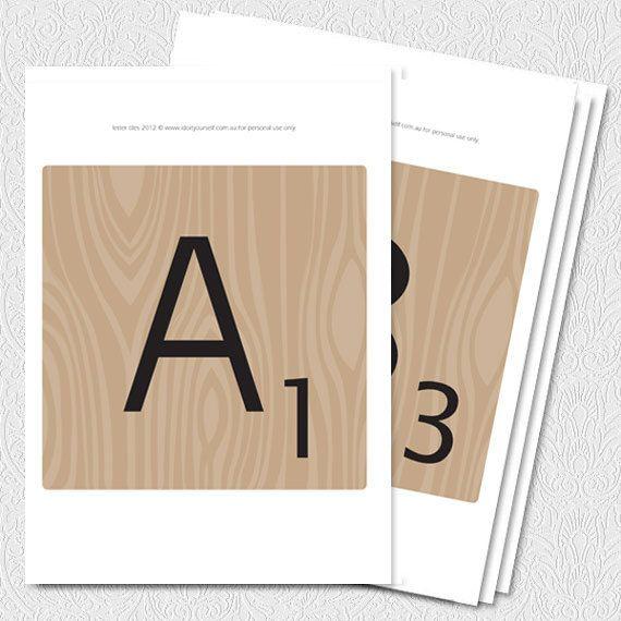 Printable Making Words Letter Tiles