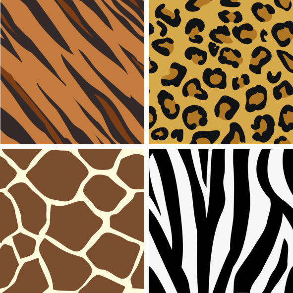6 Images of Free Printable Animal Prints