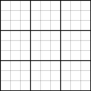 8 Images of Sudoku Printable Grids 9X9