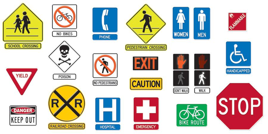 6 Best Images of Printable Safety Signs And Symbols - Free ...