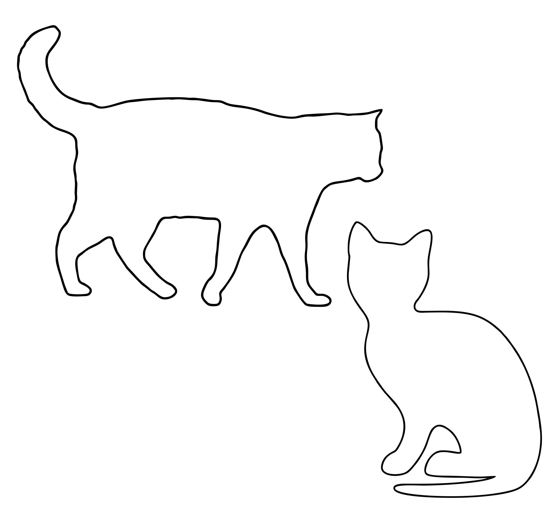 Printable Cat Templates