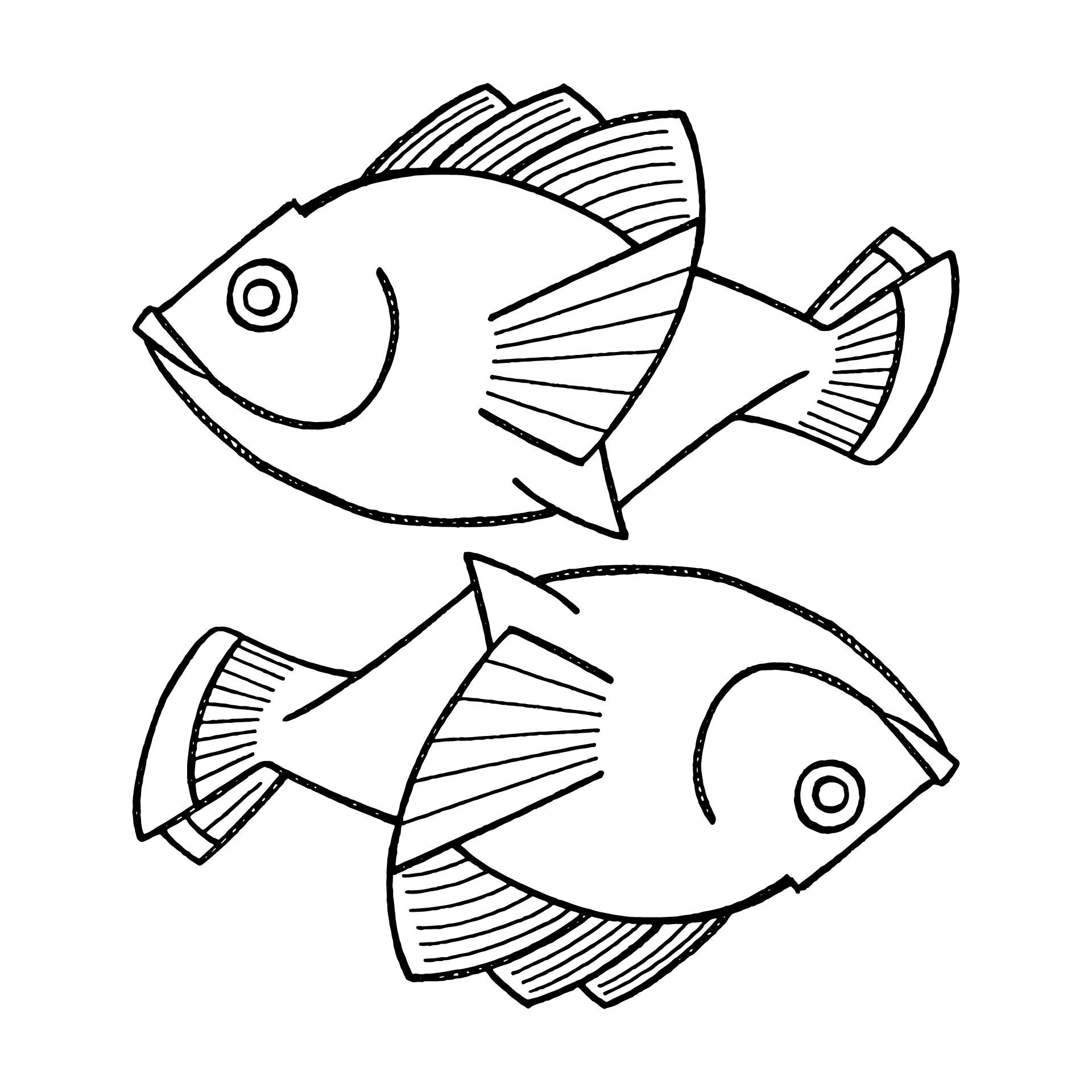 Printable Fish Patterns