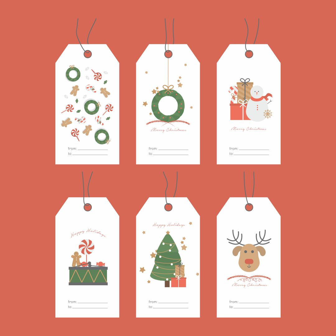 Free Printable Gift Tags Templates