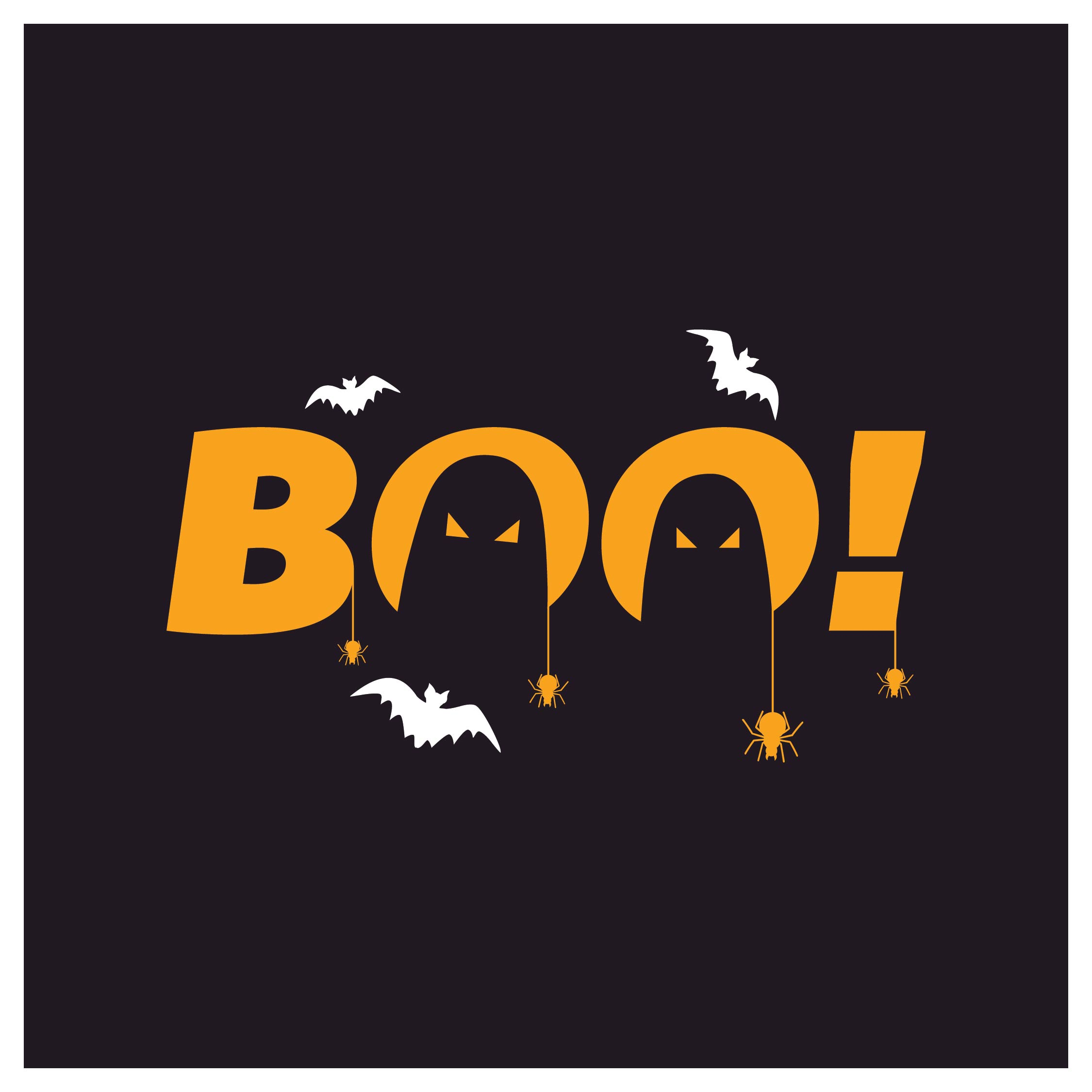 Printable Halloween Boo Sign