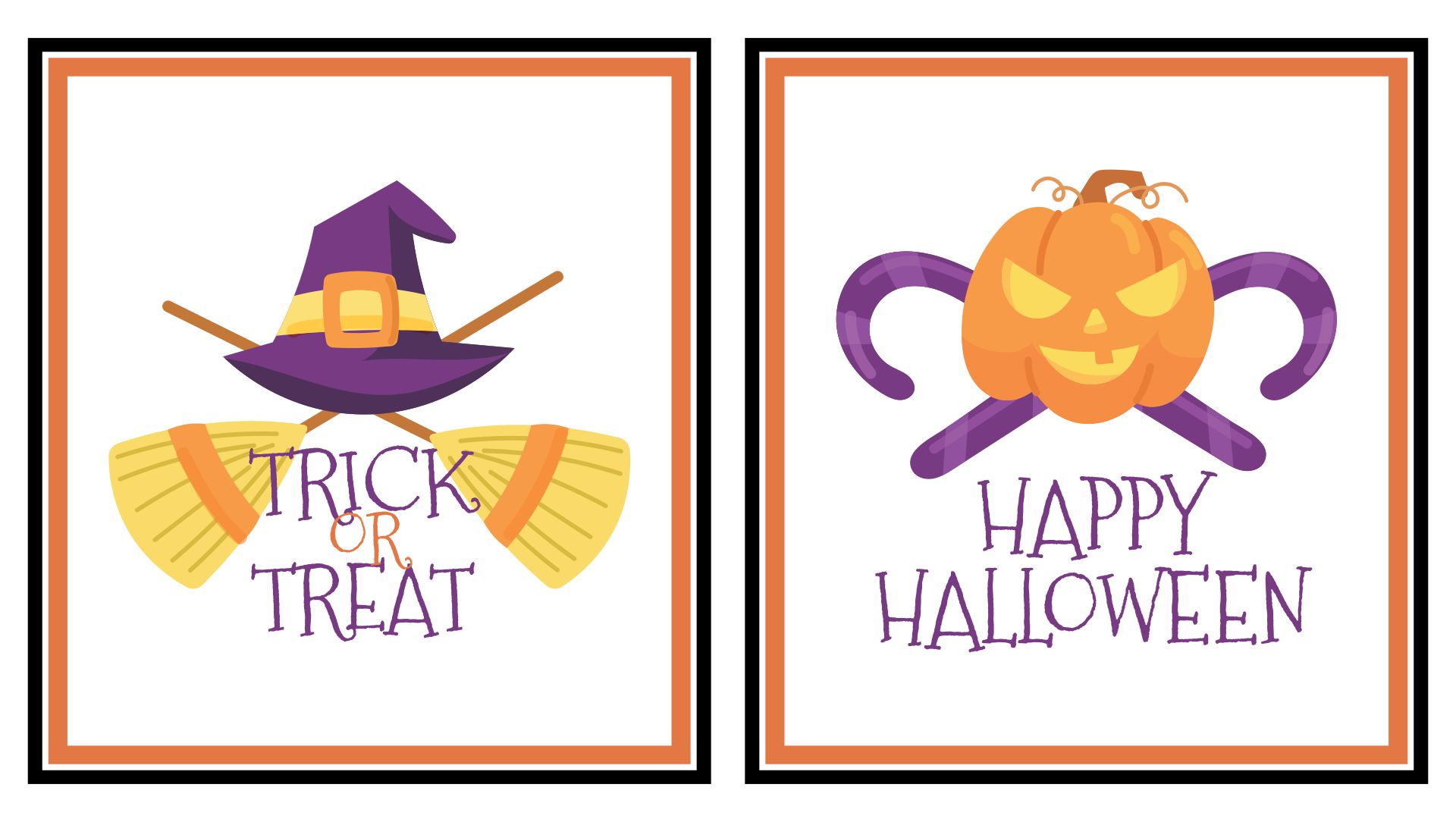 Printable Halloween Sign