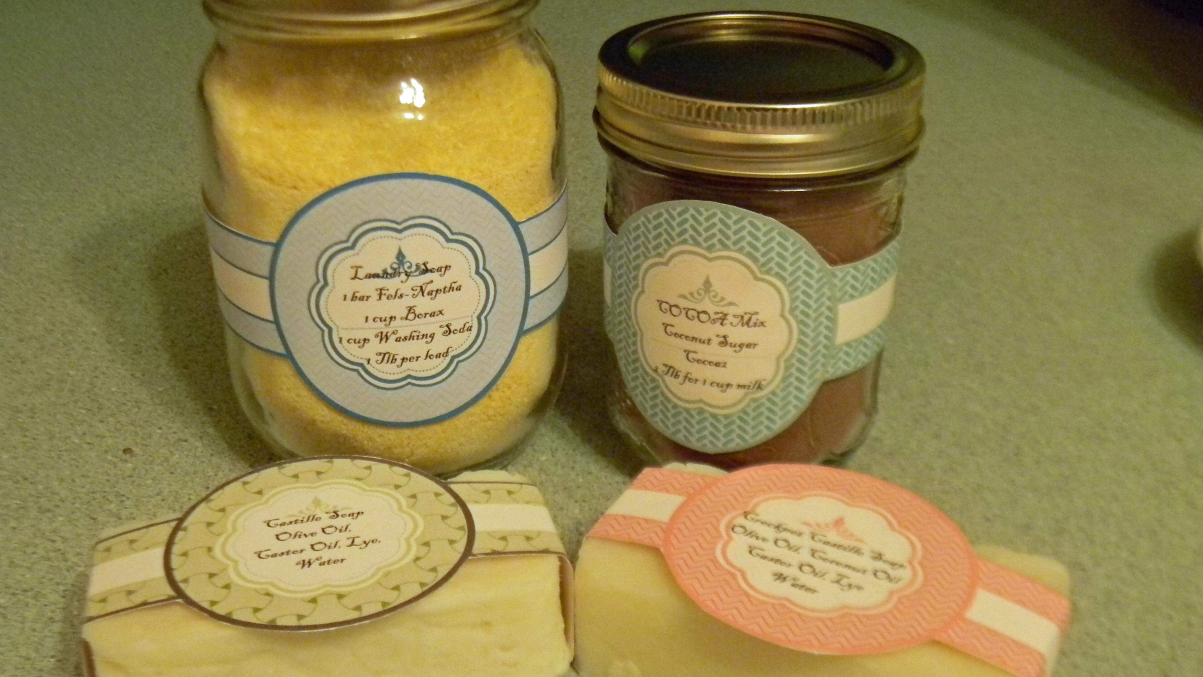 5 Images of Printable Jar Labels For Crafts