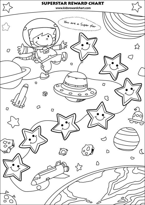 7 Images of Printable Sticker Reward Chart Boy