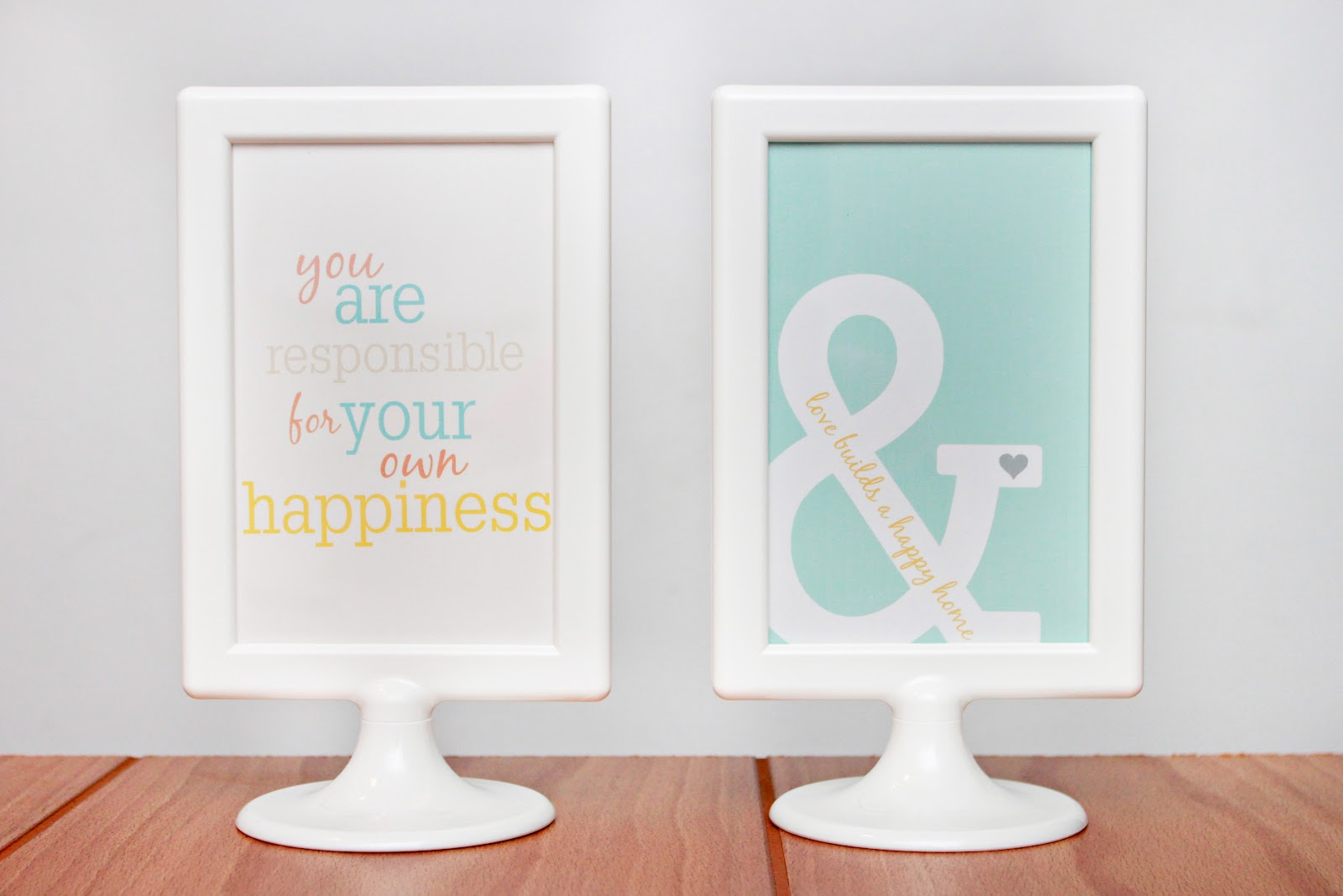 Free Printable Sayings to Frame