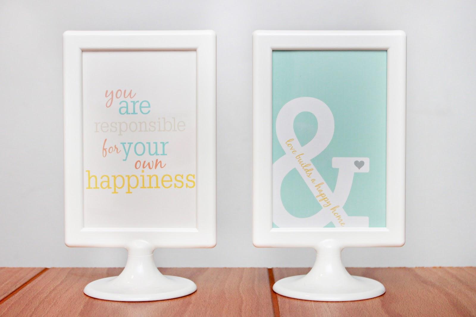 Free Printable Sayings to Frame