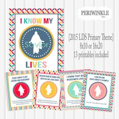 LDS Primary Printables 2015