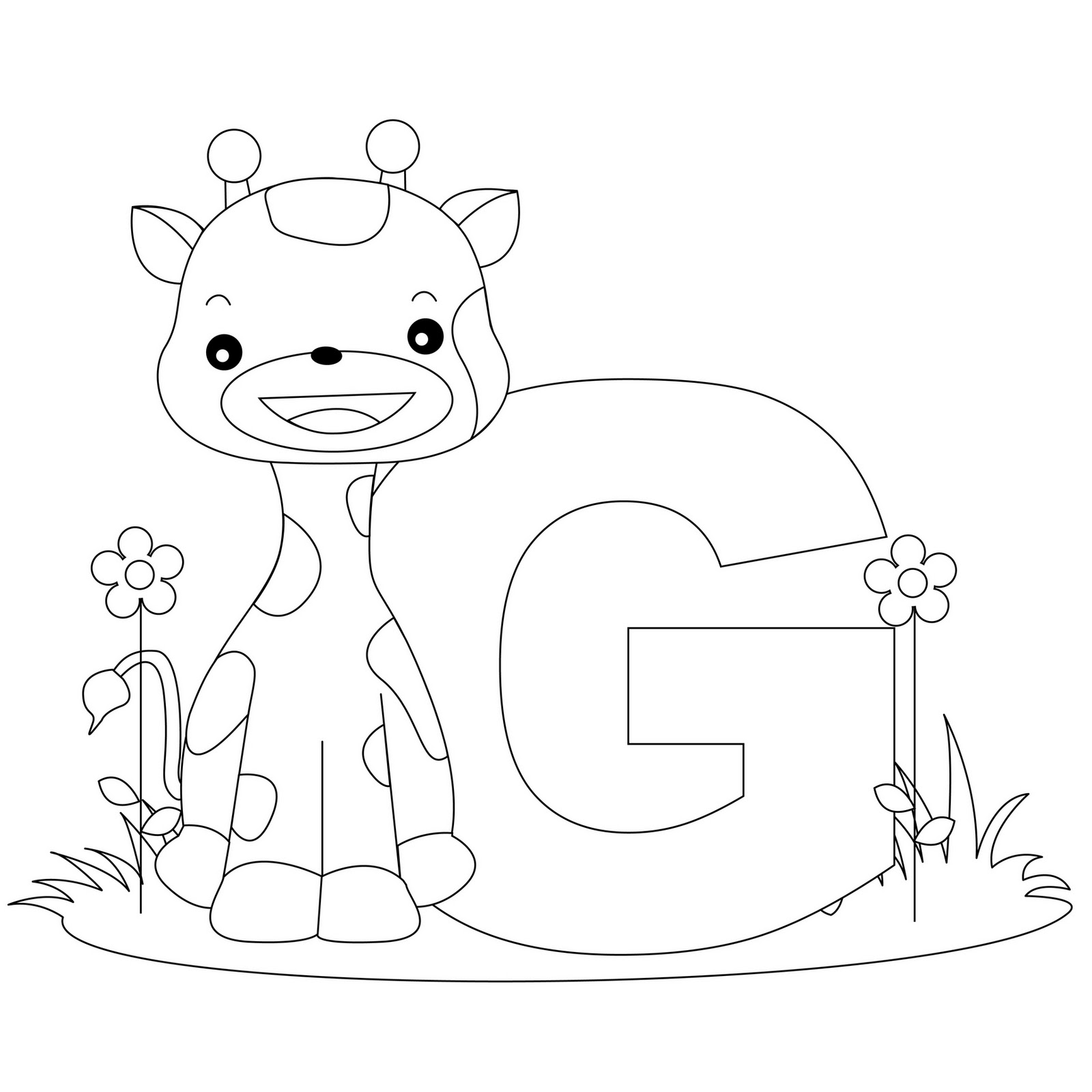 6 Images of Letter G Printables Preschoolers