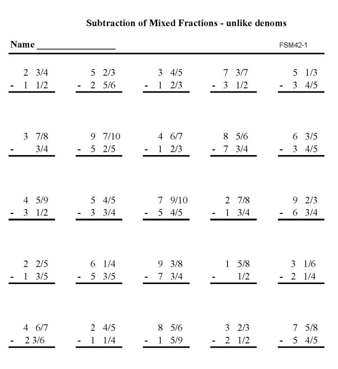 math worksheet : 7 best images of free printable math sheets fractions  free  : Math Worksheet Printables