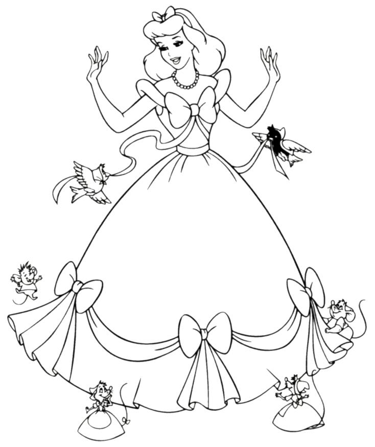4 Images of Disney Printables Cinderella