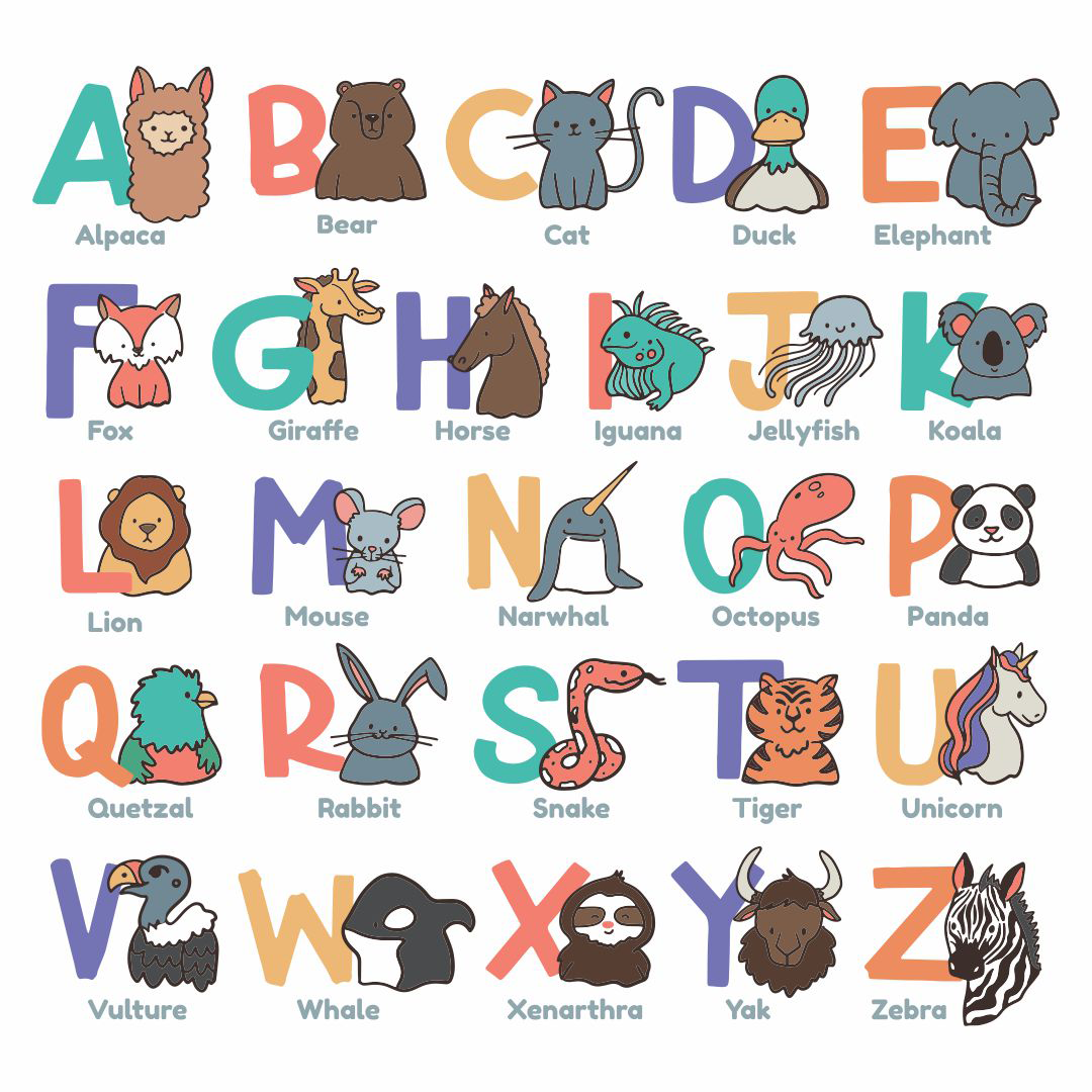 6 Images of Alphabet Sounds Chart Printable