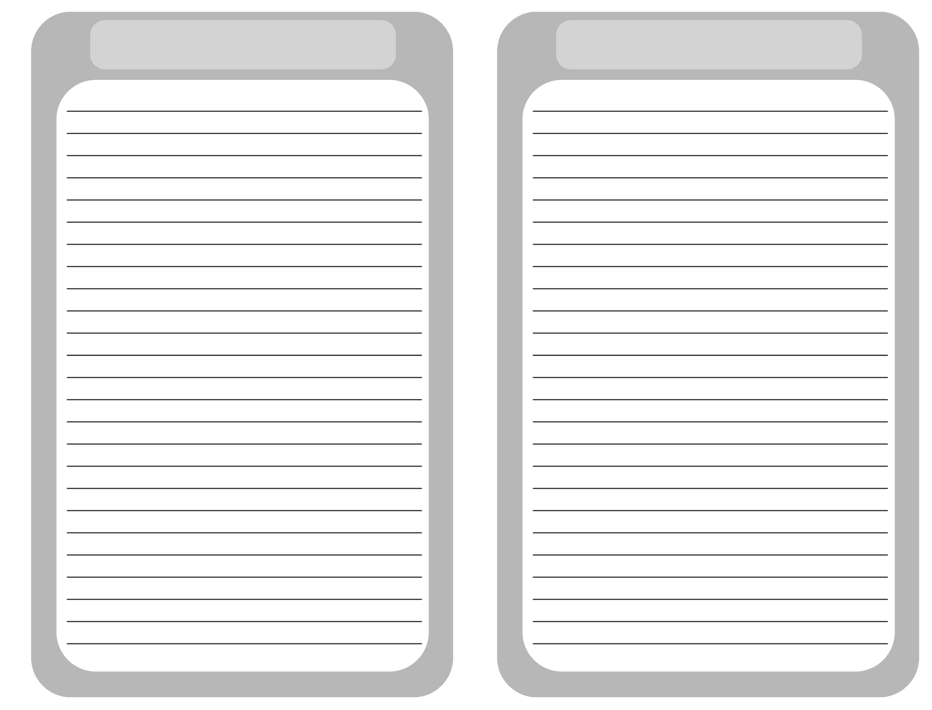 Printable Blank Journal Pages