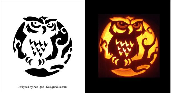 6 Images of Printable Pumpkin Carving Stencils Patterns