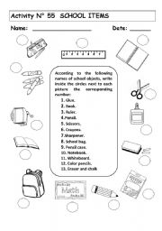Printable Worksheets For School Age - K5 Worksheets