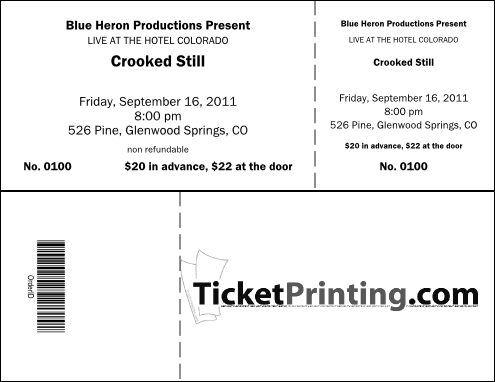 Benefit Ticket Template. Free Printable Event Ticket Template to ...