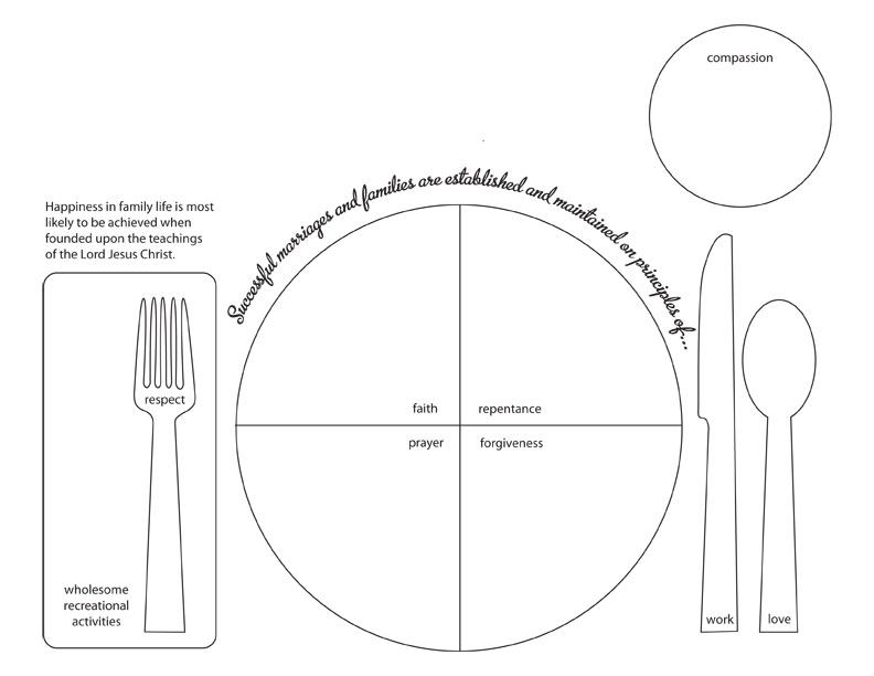 It's just a photo of Printable Placemat Template regarding preschool
