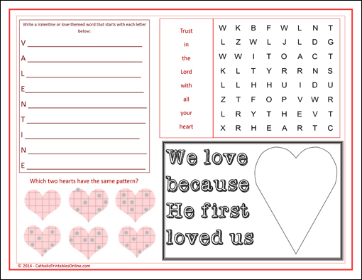 of Printable Church Games - Free Sunday School Worksheets Printables ...