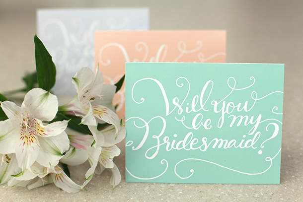 8 Images of Ask Bridesmaid Printables