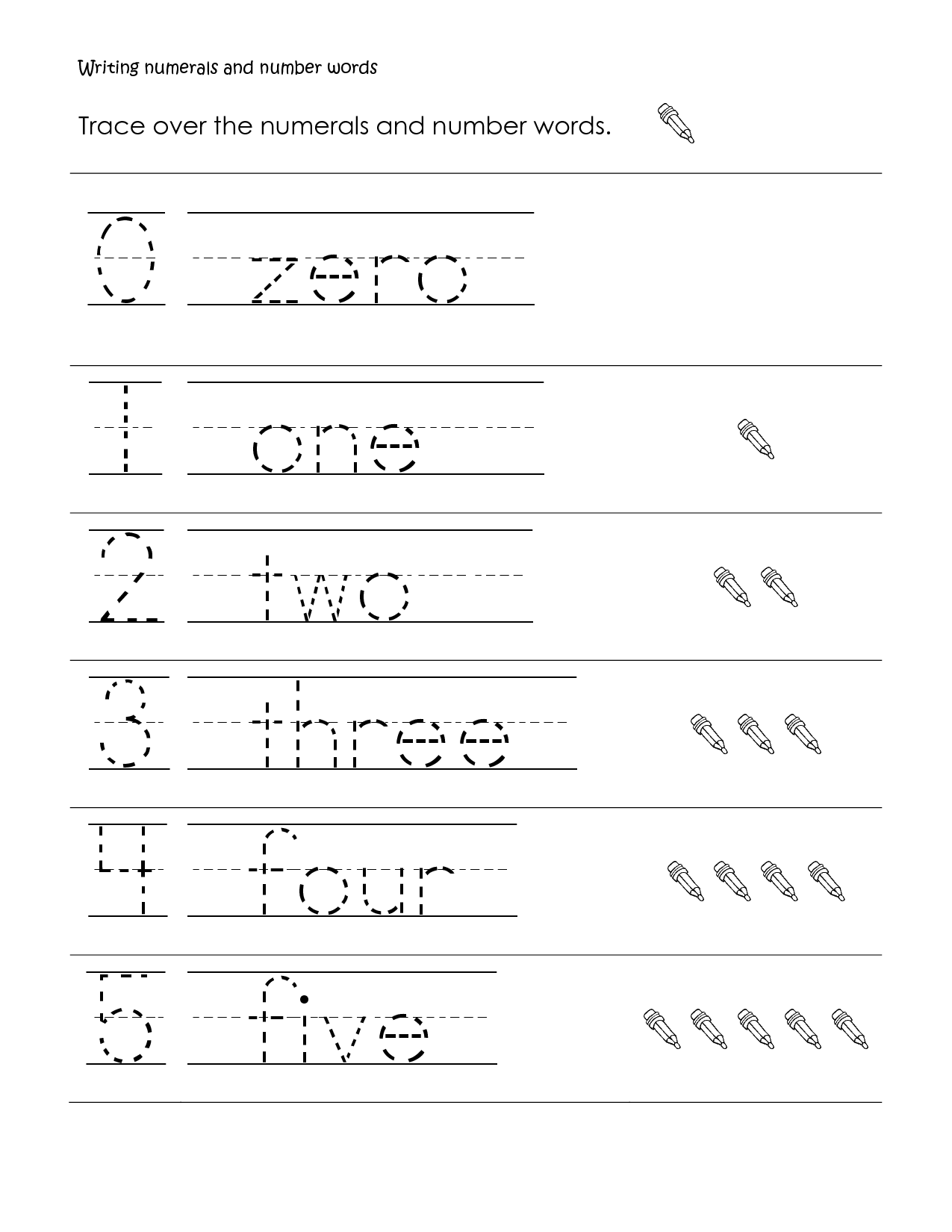 Printables Free Printable Writing Worksheets For 1st Grade first grade handwriting worksheets free writing number words printable