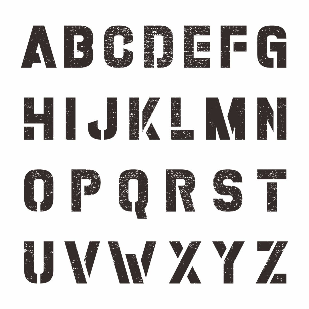 Fancy Letter Stencils - Informatin For Letter