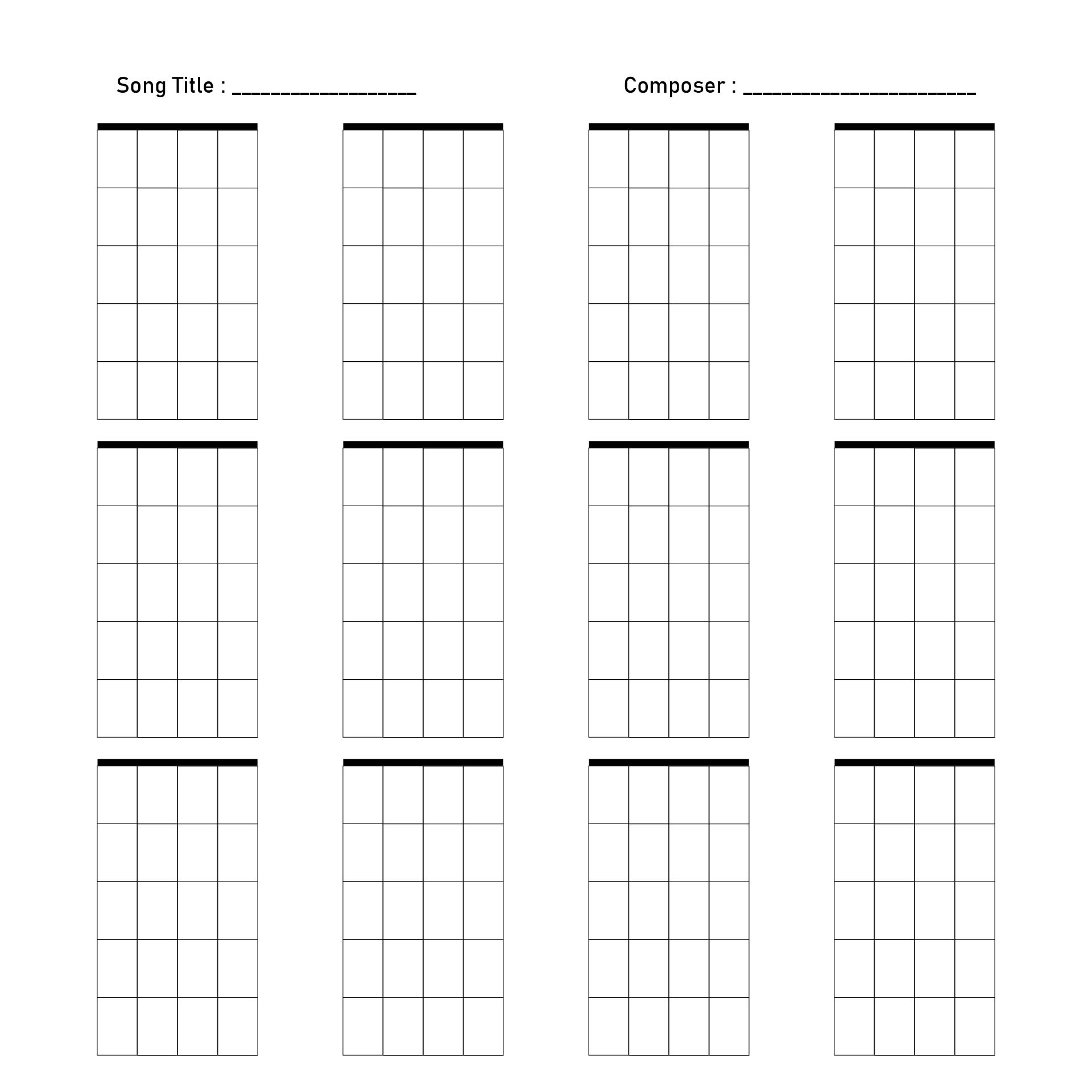 Mandolin : printable mandolin chords Printable Mandolin also ...