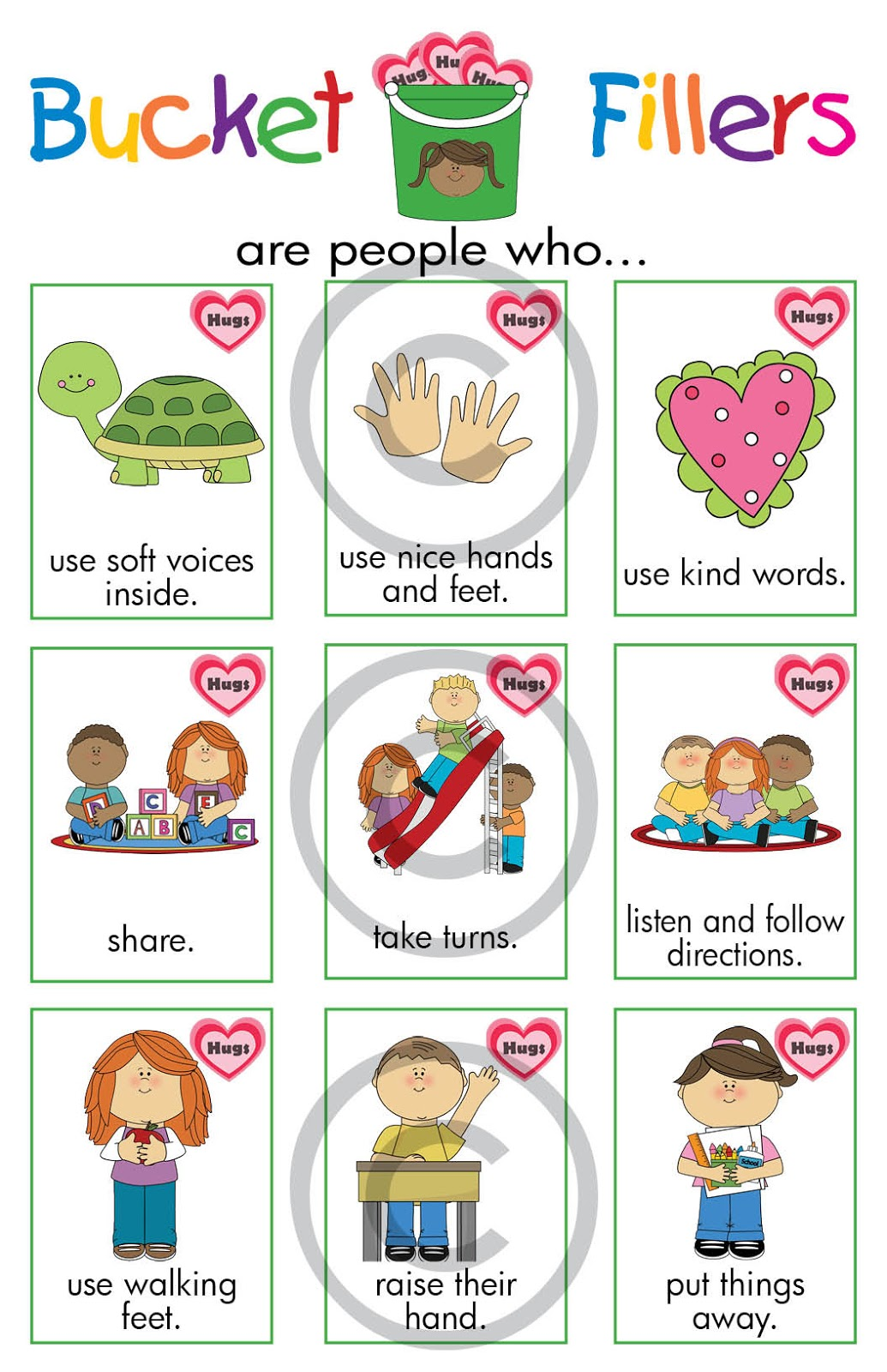 5 Best Images Of We Are Bucket Filler Printables Bucket Filler Clip Art Bucket Filler Activities And Bucket Filler Quotes Printablee Com
