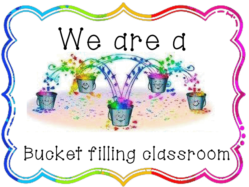 5 Images of We Are Bucket Filler Printables