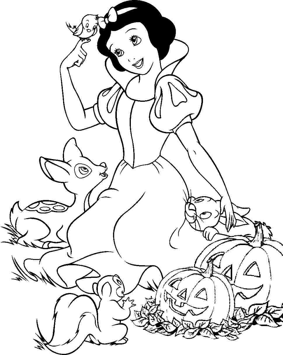Coloring Pages Snow White Color Pages snow white coloring page eassume com eassume