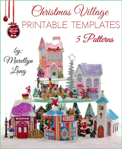 7 Images of Free Printable Christmas Village Houses