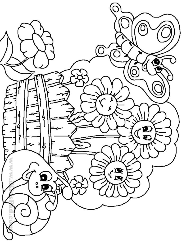 Secret garden coloring book printable - Flower Garden Coloring Pages Printable Coloring Pages Flower Garden Coloring Pages 198826 Flower Garden Coloring Pages