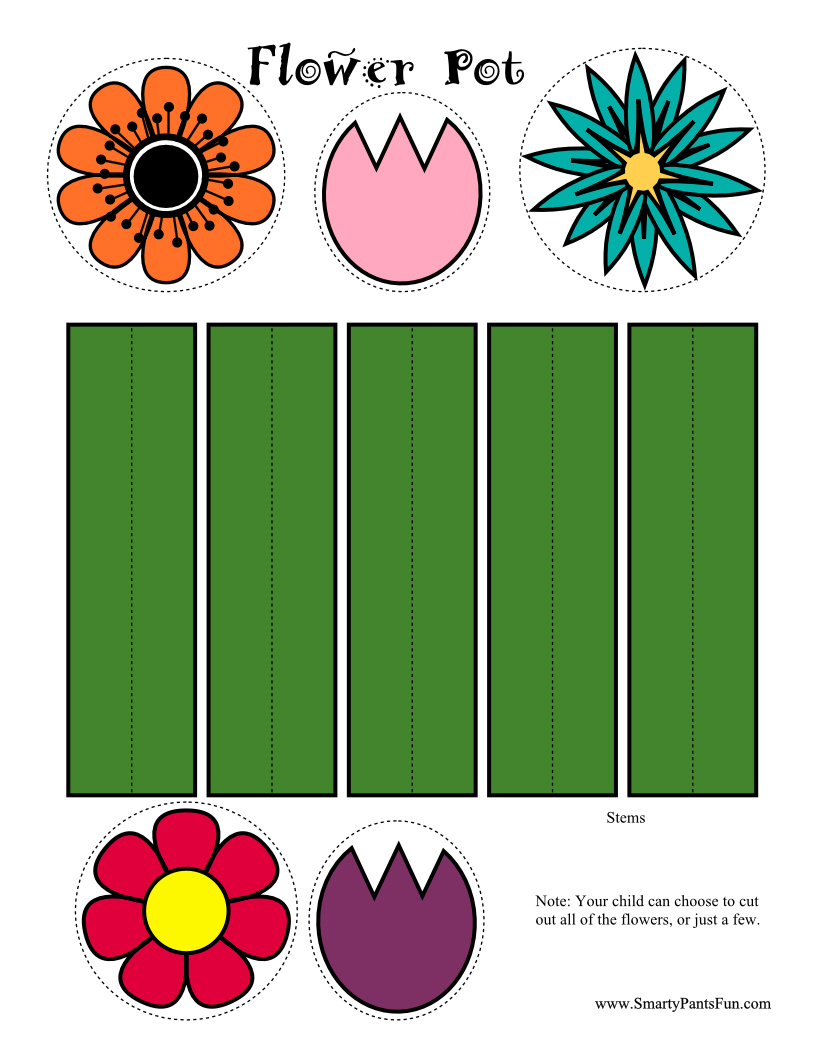 Gallery For gt Printable Spring Crafts Kids