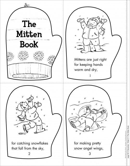 ... The Mitten Story Animals & Jan Brett The Mitten Printable Book