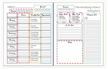 7 Best Images of Organizing Goal Printables - Free ...