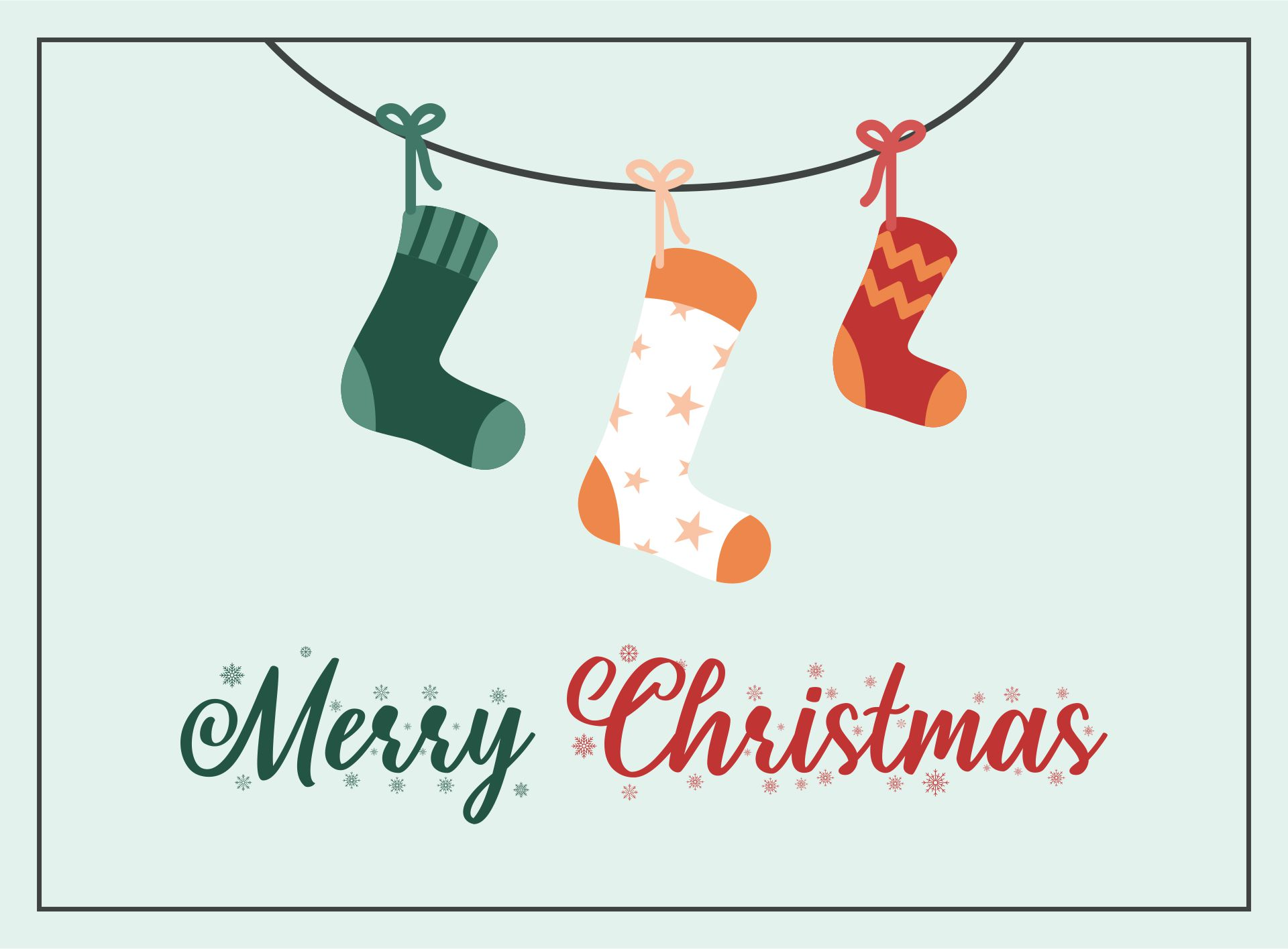 5 Images of Christian Christmas Printable Cards