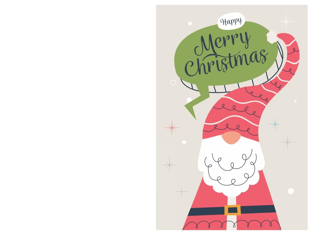 Printable Christmas Greeting Cards