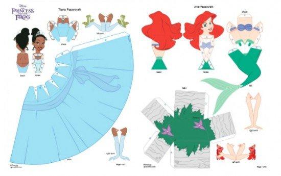 Princess Paper Dolls Printable - Free Printable Disney Princess Paper ...