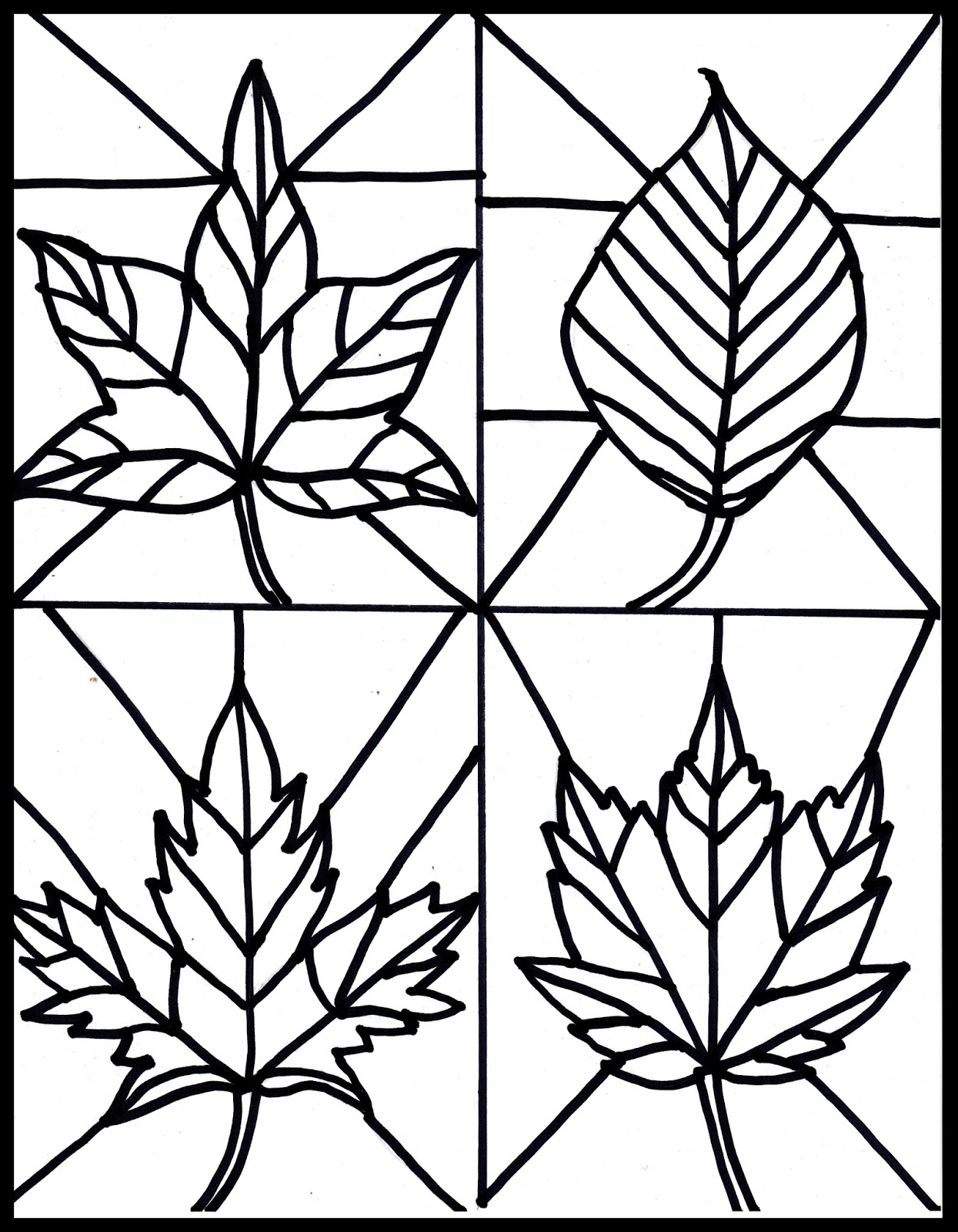 8 best images of craft patterns free autumn printable for Autumn leaf template free printables