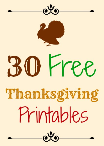 7 Best Images Of Happy Thanksgiving Free Printable Tags