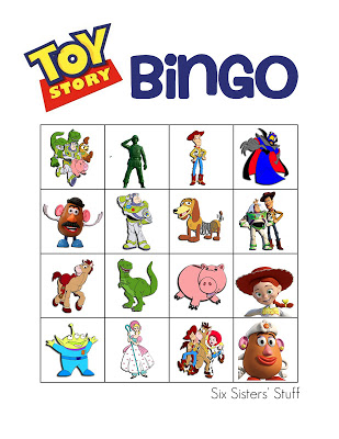 Free Printable Toy Story Games