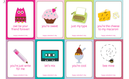 5 Images of Printable Valentine Cards For Co-Workers