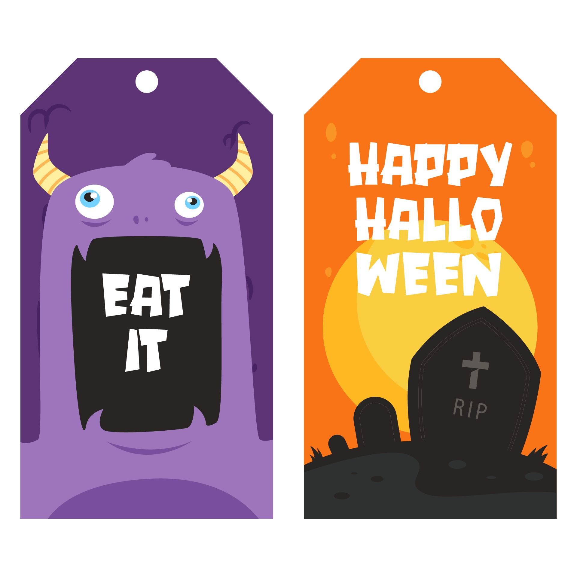 Happy Halloween Labels Printable Free