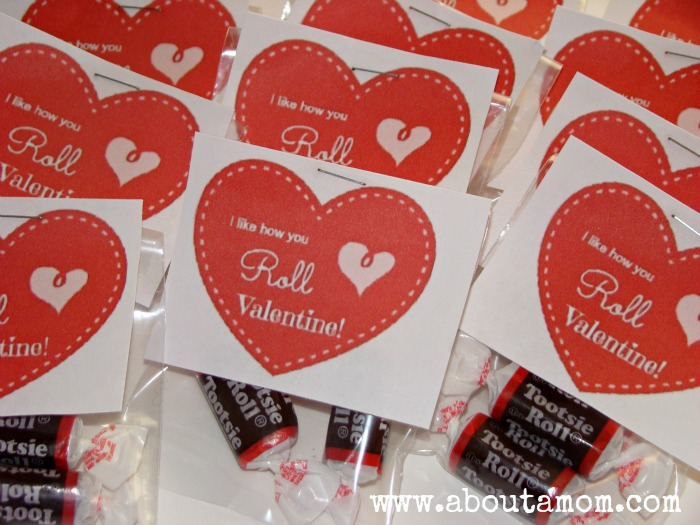 7 Images of Tootsie Roll Valentine Free Printables