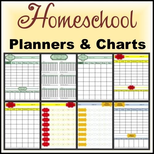 7 Images of Free Printable Charts Homeschool