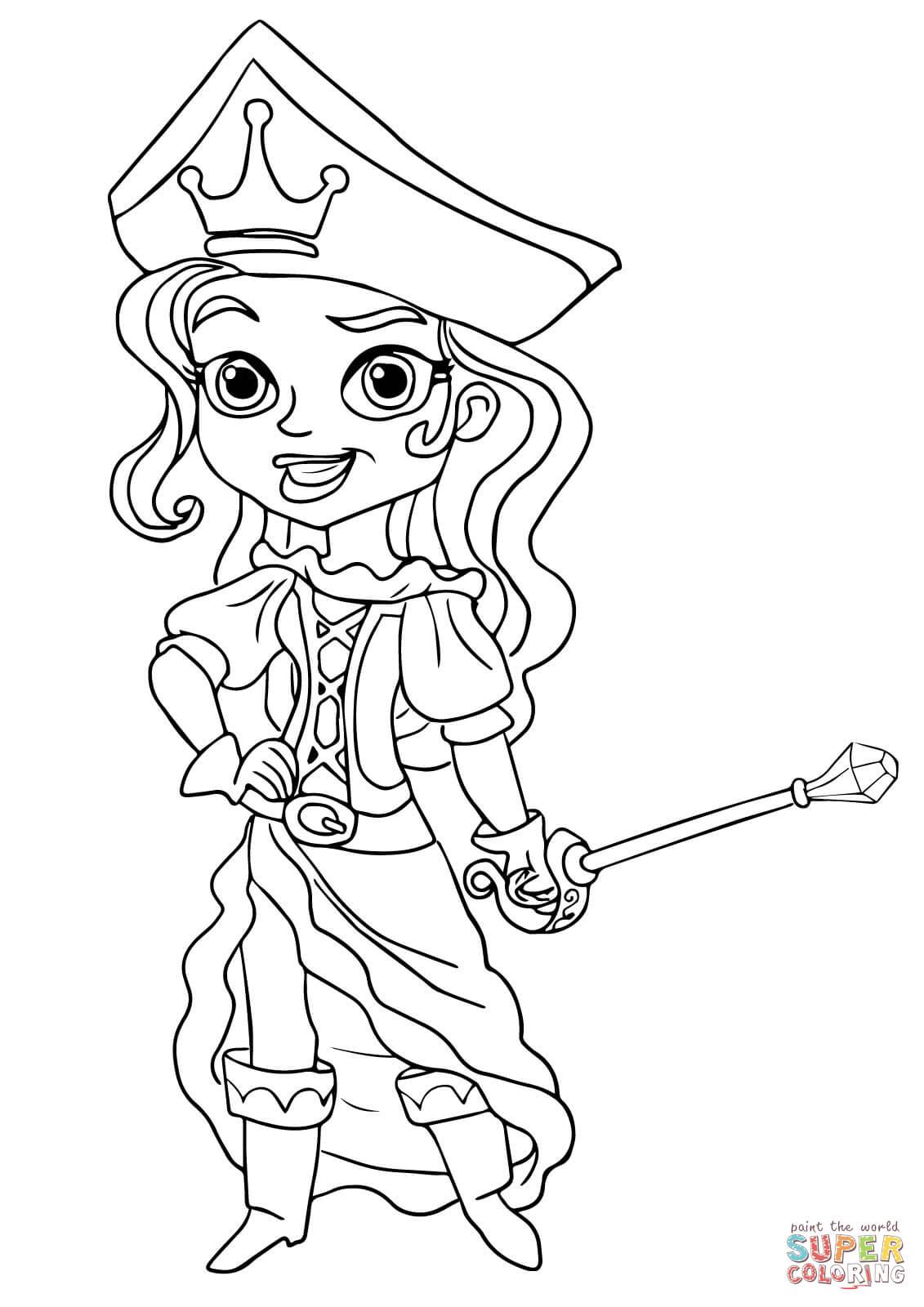 Раскраски джейки и пираты нетландии