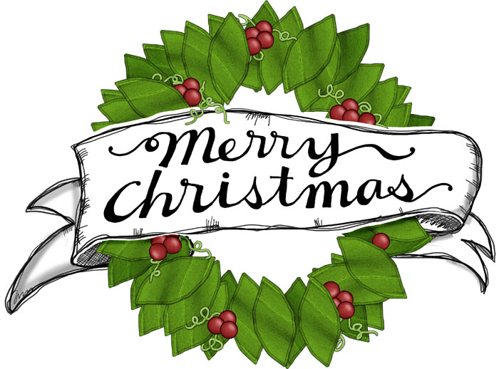 5 Images of Merry Christmas Printable Signs