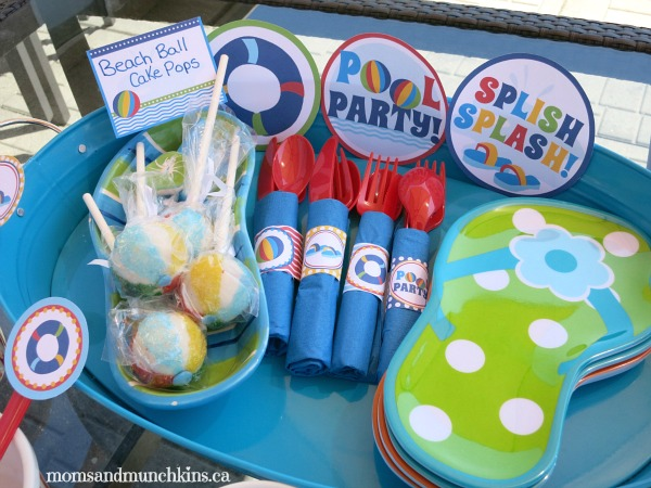 7 Images of Free Printable Pool Party Signs