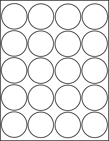 7 Images of 2 Circle Template Printable